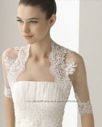 В наличии Новое нежное болеро для свадебного платья салон Bride недорого