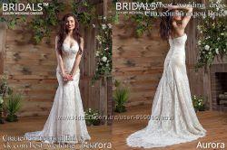 Новое В наличии кружевное свадебное платье 2017 Aurora салон Bride