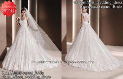 Новое В наличии пышное свадебное платье Raven 2016 салон Bride недорого