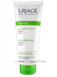 URIAGE Hyseac Cleansing Gel - мягкий очищающий гель для умывания 500 мл.