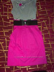 Шикарное летнее платье , размер единый С-М