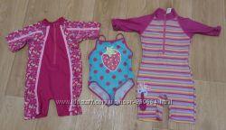 купальники для девочки 1-2 лет