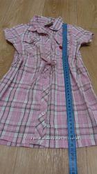 Платье-халат для девочки 3-4 лет
