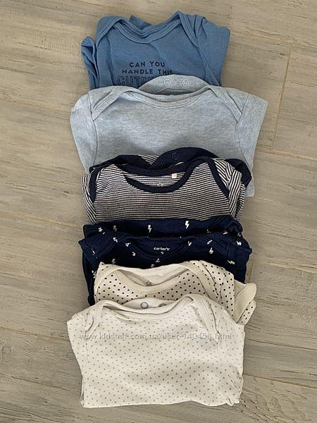 Набор одежды на мальчика 0-3мес