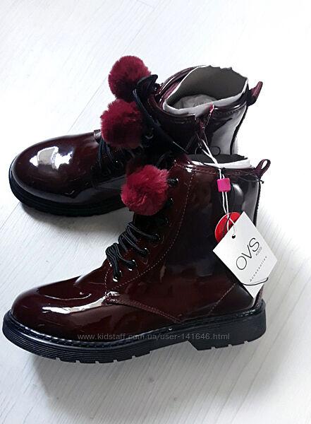 Демисезонные высокие ботинки/полусапожки OVS Италия  35-36 размер, 2 цвета
