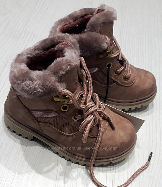 Демисезонные  ботиночки OVS kids на девочку Италия 26 размер