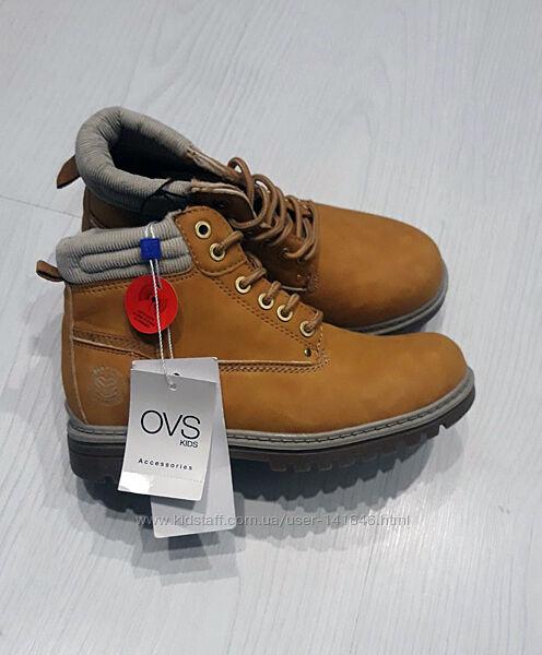 Демисезонные ботинки  Ovs Италия, размер 34-35