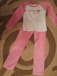 Велюровая пижама Chicco р.128