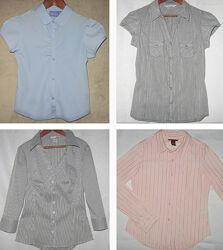 Рубашки для девочки H&M и др. США 140-158