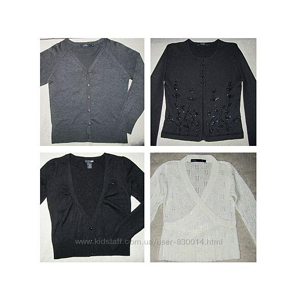 Кофты кардиганы для девочки H&M и др.134-146 цены разные