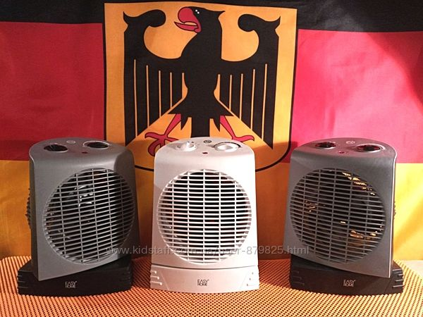 Тепловентилятор обогреватель вентилятор Обігрівач дуйчик EASY HOME, Германи