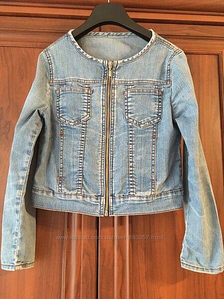 Джинсовая куртка для девочки  Gloria Jeans