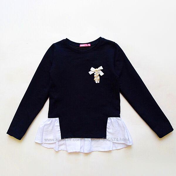 Школьная кофта блузка для девочки