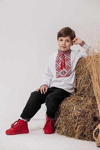 Вышиванка для мальчика, вышитая рубашка детская и подростковая