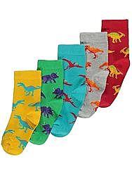 Носки George с динозаврами.  2-3 года.