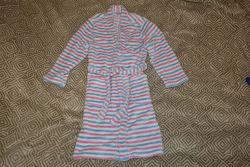 Флисовый банный халат Alive 9-10 лет рост 134-140