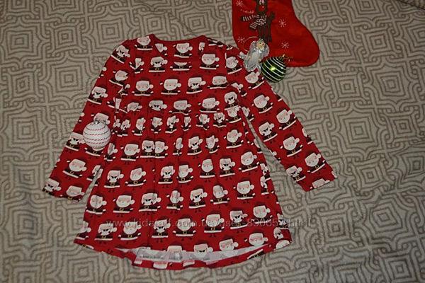 Новогоднее платье mini club 4-5 лет рост 104-110 Англия