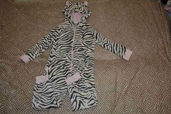 Флисовая пижама кигуруми Next 5-6 лет рост 110-116 Англия