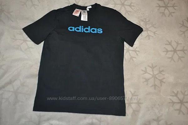 Футболка adidas climalite cotton оригинал 13-14 лет рост 158-164