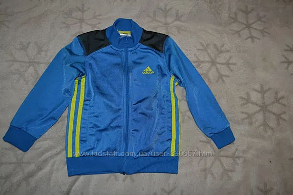 Спортивная кофта Adidas 4-5 лет рост 104-110 оригинал
