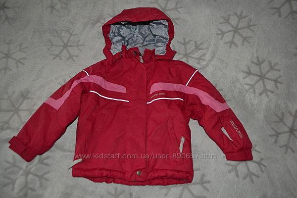 зимняя термо курточка color kids 4 года рост 104 Германия