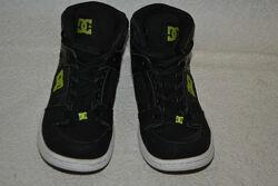 высокие кроссовки DC shoes кожа 24 см 37 размер США