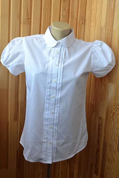 новая белая блузка M&S 14-15 лет рост 164-172