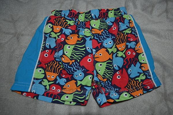 плавки шорты для плавания Mothercare 18 мес рост 86