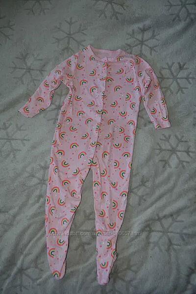 пижама человечек слип 18-24 мес рост 86-92