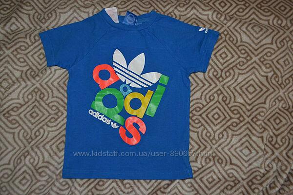 футболка adidas оригинал 3-4 года рост 98-104