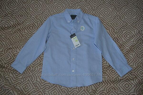 новая рубашка Primark 4-5 лет рост 110