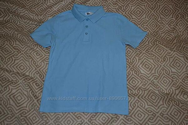 новая футболка поло M&Co 9-10 лет рост 134-140 Англия