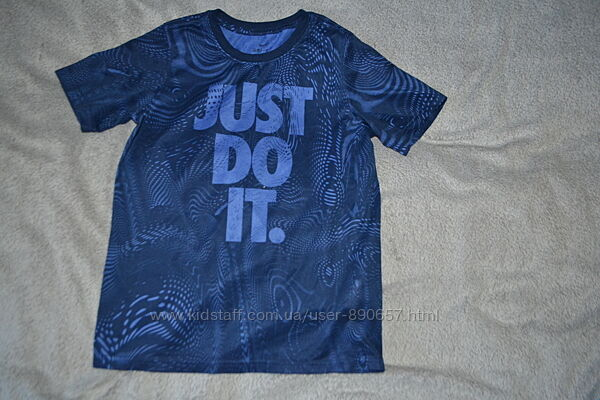 термо футболка Nike dri fit 10 лет рост 140