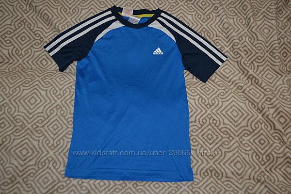 спортивная термо футболка Adidas оригинал 9-10 лет рост 134-140
