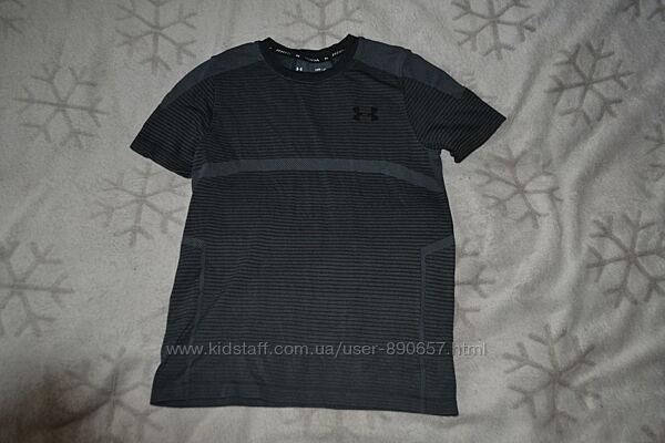 термо футболка under armour heatgear 11-12 лет рост 146-152