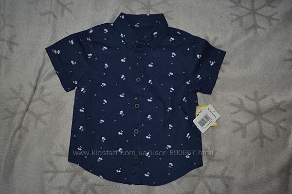 новая рубашка Matalan 18 мес рост 86 Англия