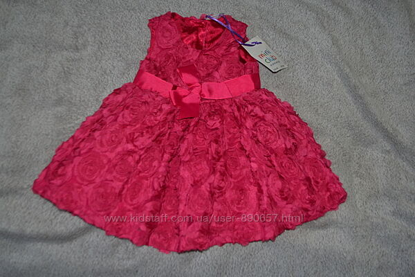 новое платье Mini club 3-6 мес рост 62-68 Англия