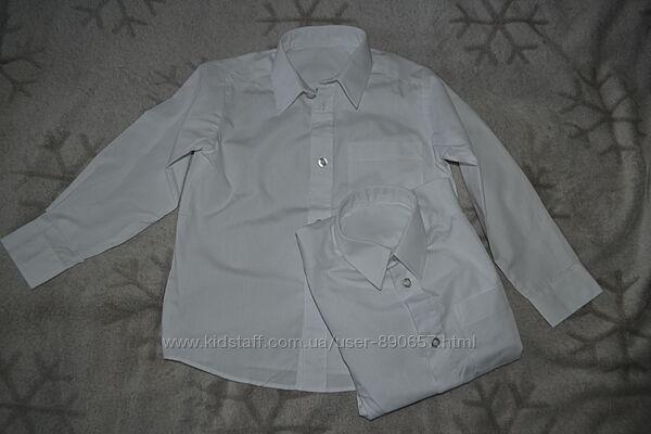 белая рубашка Tu 4 года рост 104 Англия