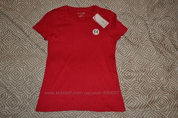 новая красная футболка Tu размер М-38-40 Англия