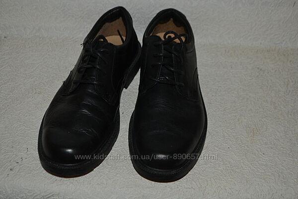 новые туфли Clarks 26.8 см 41-42 размер кожа Англия