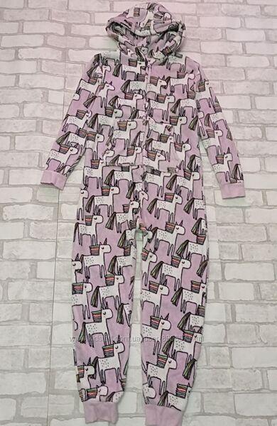 Пижама человечек флис 11 лет next 146 рост