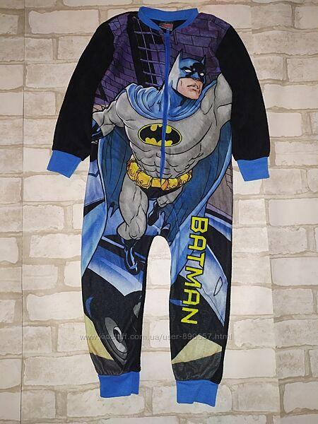 Пижама человечек флисовый 4-5лет 104-110 рост Primark