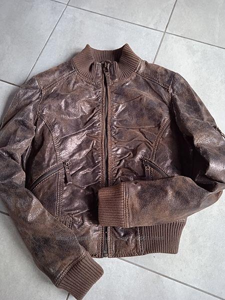 Куртка женская кожа. рS-M