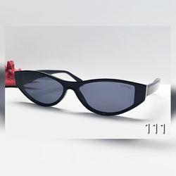 Жіночі сонцезахисні окуляри лисички