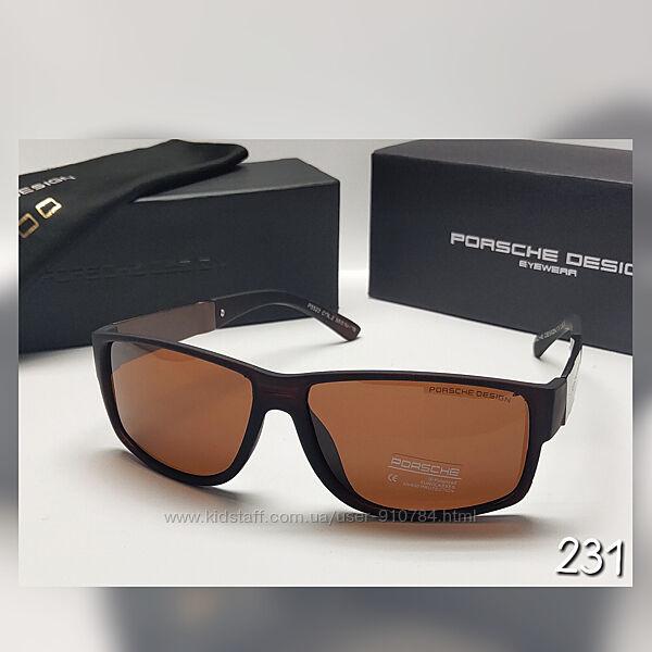 Чоловічі окуляри сонцезахисні лінза поляризаційна із футляром
