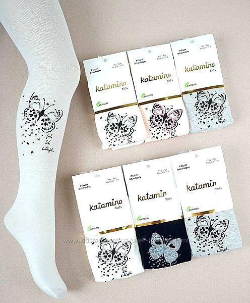 Красивые деми колготки для девочек  Бабочки