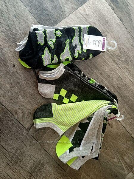 Новые носочки для мальчика много цветов Primark размеры 23-42