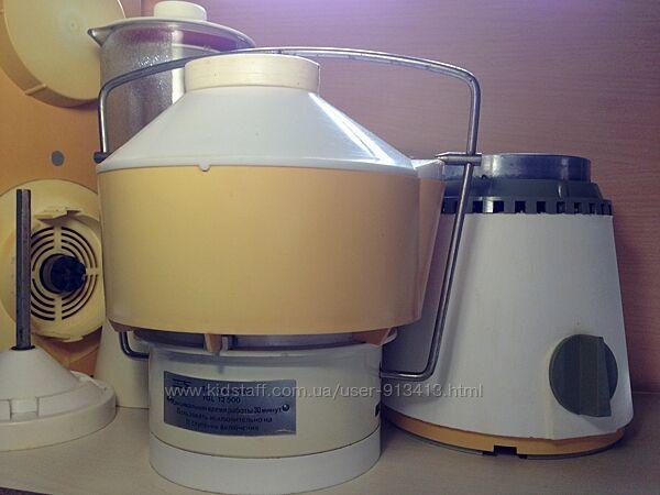 Кухонный комбайн AKA TGL 12500 ГДР соковыжималка блендер моторный блок