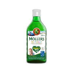 Омега 3, Mollers для маленьких, натуральный вкус