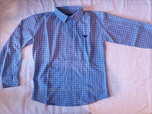 Школьная рубашка Armani Junior для мальчика, 3 вида